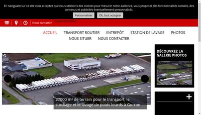 Site internet de Str Societe Transports Roche