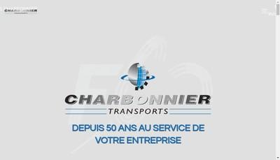 Site internet de Transports Charbonnier Freres