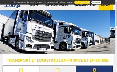 Site internet de Transports Idoux - Groupe Clot