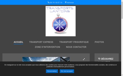 Site internet de SARL Lantoine