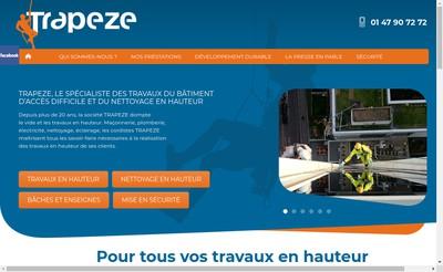 Site internet de Trapeze