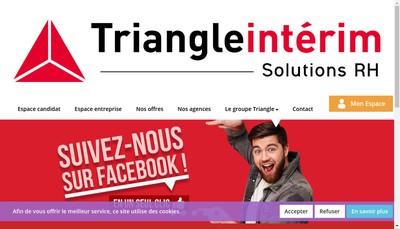 Site internet de Triangle 23