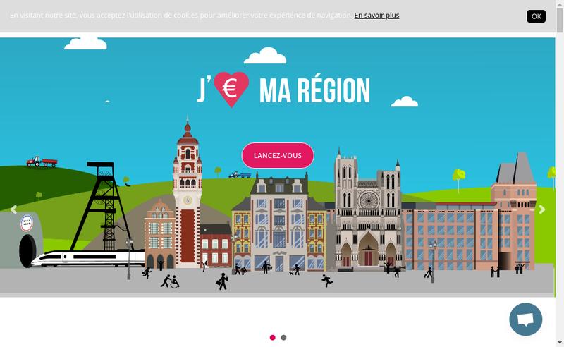 Capture d'écran du site de Tributile