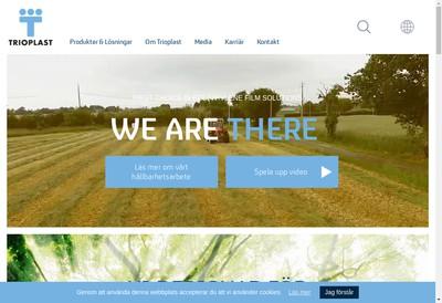 Site internet de Trioplanex France SA
