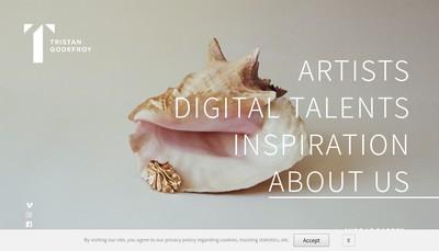 Site internet de Tristan Godefroy