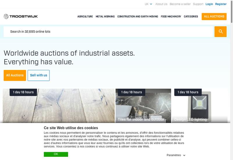Capture d'écran du site de Roux Troostwijk Consultant