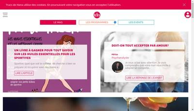 Site internet de Truc de Nana