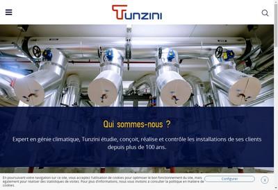 Site internet de Tunzini