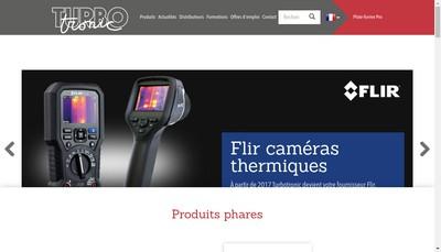 Site internet de Turbotronic