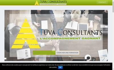 Site internet de Tuva Consultants
