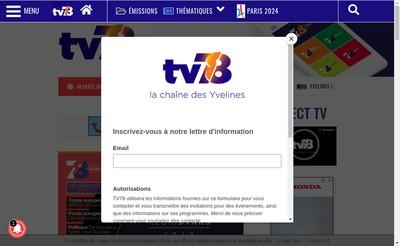 Site internet de Tv78