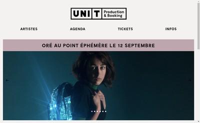 Site internet de Uni-T