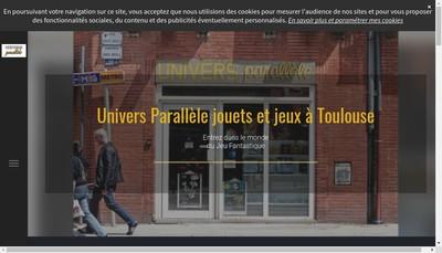 Site internet de Univers Parallele