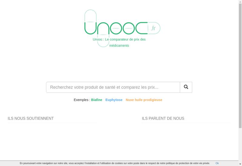 Capture d'écran du site de Digitica