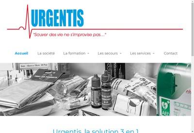 Site internet de SARL Urgentis