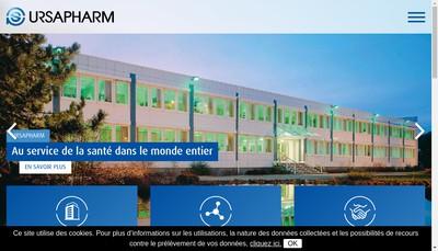 Site internet de Laboratoires Ursapharm