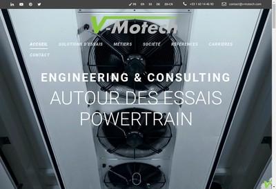 Site internet de V-Motech