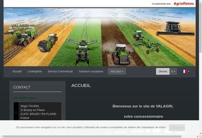 Site internet de Valagri SARL