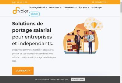 Site internet de Valor One