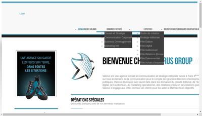 Site internet de Valorus Group
