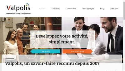 Site internet de Valpolis