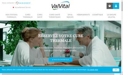 Site internet de Valvital