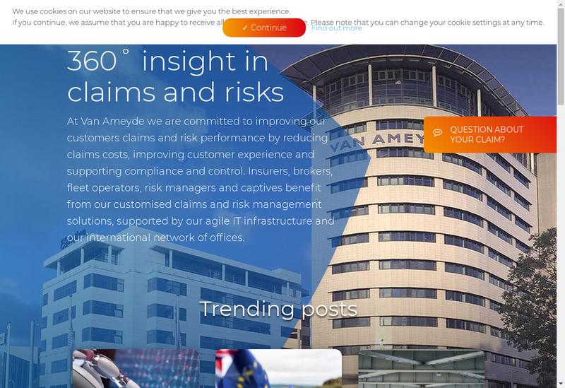 Capture d'écran du site de Europrotector