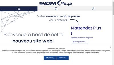 Site internet de VDM Same Super Marine