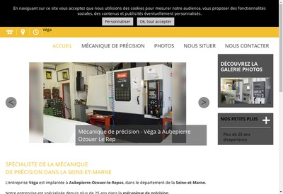 Site internet de Etablissements Vega