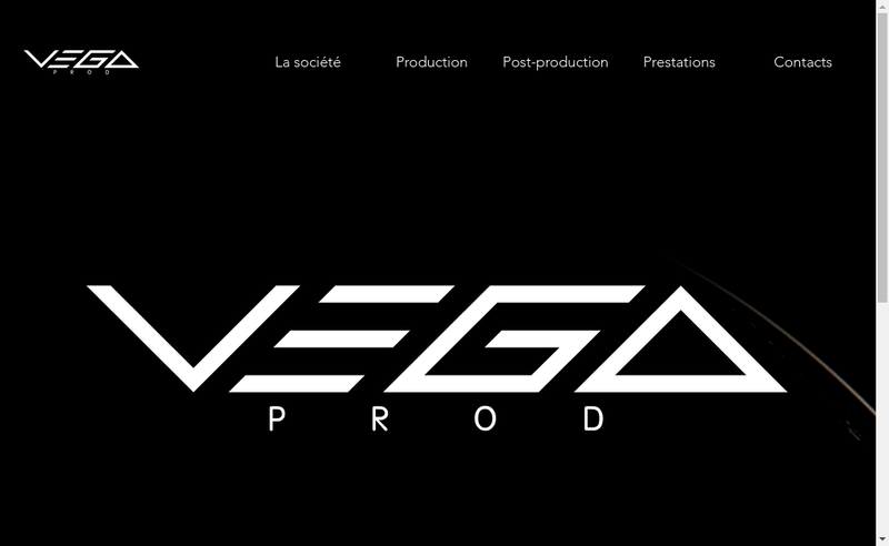 Capture d'écran du site de Music2Prod
