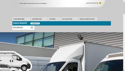 Site internet de Vehiposte