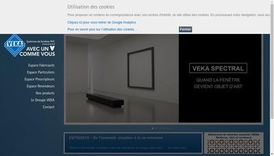 Site internet de Veka