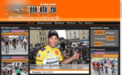 Site internet de Velofotopro