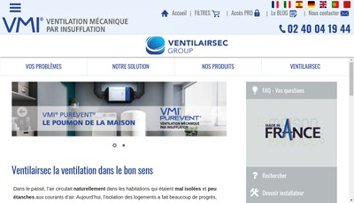 Site internet de Vmi