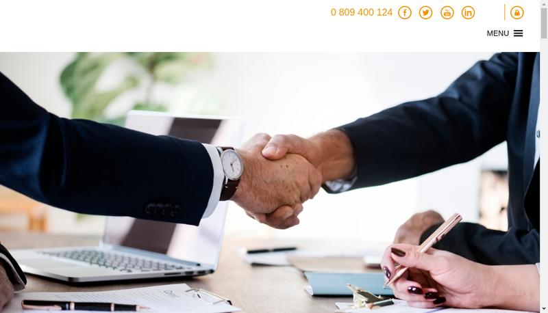 Capture d'écran du site de Ventoris Consulting