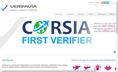 Site internet de Verifavia