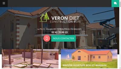 Site internet de Veron Diet