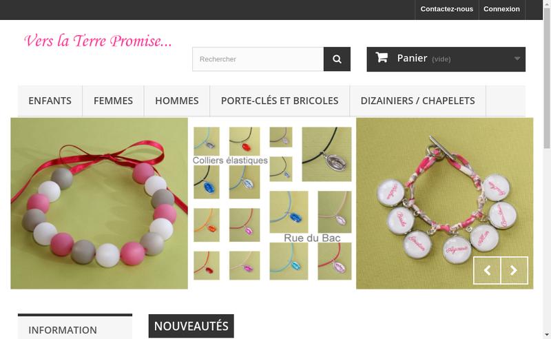 Capture d'écran du site de Celine Cardinaux