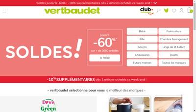 Site internet de Cyrillus - Vertbaudet Group