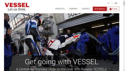 Site internet de Vessel Europe SARL