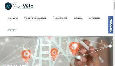 Site internet de Mon Veto