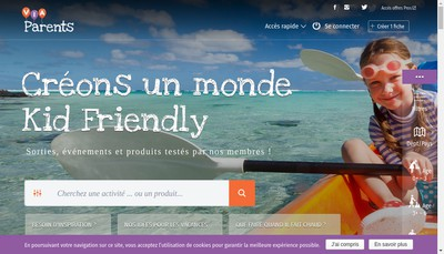 Site internet de Viaparents