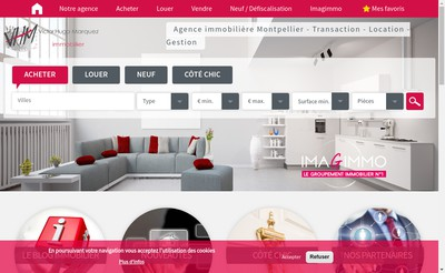 Site internet de Victor Hugo Immobilier