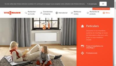 Site internet de Viessmann Faulquemont