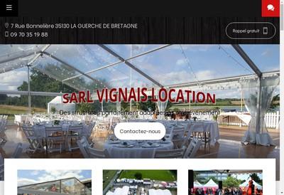 Site internet de Vignais Location