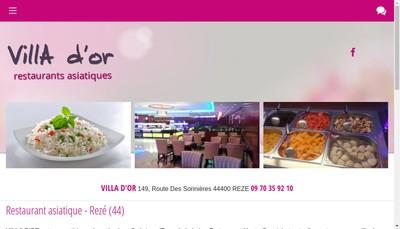 Site internet de Villa d'Or