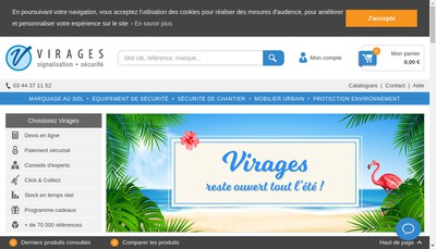 Site internet de Virages