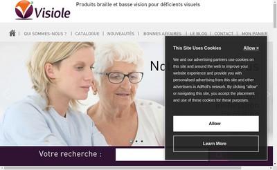 Site internet de Visiole