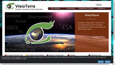 Site internet de Visioterra