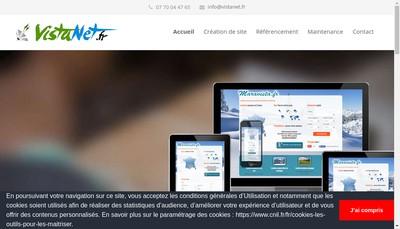 Site internet de Vistanet